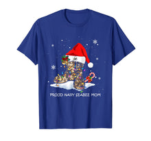 Load image into Gallery viewer, Proud Navy Seabee Mom christmas Gift T-Shirt