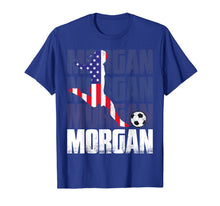 Load image into Gallery viewer, Morgan Soccer Womens Celebration Gift T-Shirt