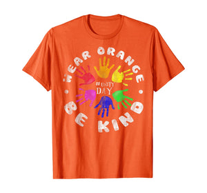 Anti Bullying Gift We Wear Orange Unity Day tee T-Shirt