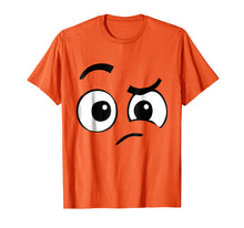 Load image into Gallery viewer, Perplexed Emoji Halloween Costume TShirt Confused Face