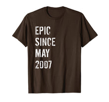 Load image into Gallery viewer, 12th Birthday Gift Epic Since May 2007 T-Shirt