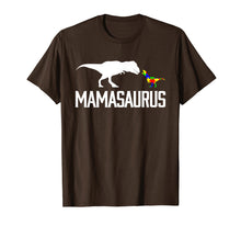 Load image into Gallery viewer, Mamasaurus Autism Mom Shirt To Raise Autism Awareness.png
