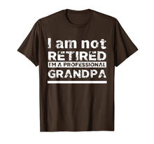 Load image into Gallery viewer, Mens I'm Not Retired I'm A Professional Grandpa Father Day Gift