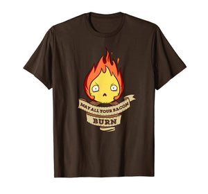 May All Your Bacon Burn Scary Fire Demon T-Shirt