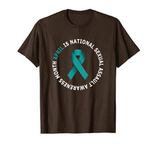 Load image into Gallery viewer, April is National Sexual Assault Awareness Month Shirt