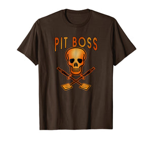 PIT BOSS Grilling T-Shirt Skull and Spatulas