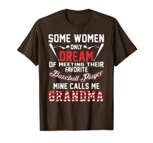 Load image into Gallery viewer, Baseball Grandma T Shirt, Baseball Player Grandma Gift