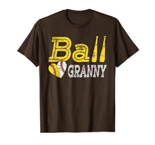 Load image into Gallery viewer, Baseball Softball Ball Heart Granny Shirt Mother's Day Gifts