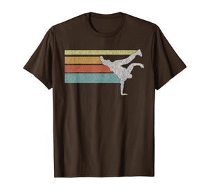 Vintage look Hip Hop BBOY breakdance T-shirt