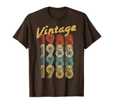 Load image into Gallery viewer, 1988 Vintage Funny 31st Birthday Gift Shirt For Him or Her