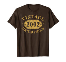 Load image into Gallery viewer, 2002 17 years old 17th B-day Limited Birthday Gift T-Shirt