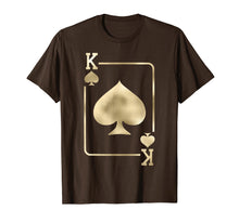 Load image into Gallery viewer, King of Spades Shirt Playing Card Halloween Costume