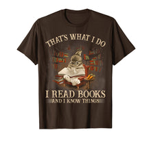 Load image into Gallery viewer, RABBIT- That's What I Do I Read Books And I Know Things