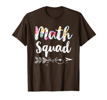 Load image into Gallery viewer, Math Squad Tee Shirt Teacher Appreciation Gift