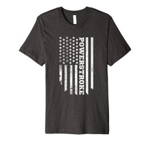 Load image into Gallery viewer, American Flag Powerstroke T-Shirt