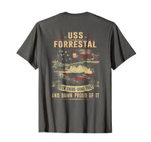 Load image into Gallery viewer, Navy USS Forrestal (CV-59) T-shirt
