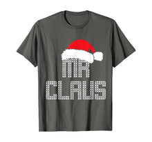 Load image into Gallery viewer, Mens Mr and Mrs Claus Family Matching Pajamas Xmas Santa T-Shirt