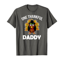 Load image into Gallery viewer, Mens One Thankful Daddy Fall Autumn For Dad Thanksgiving T-Shirt