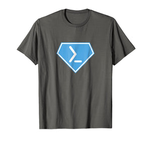 Powershell Super Power Diamond - Men Women T-Shirt
