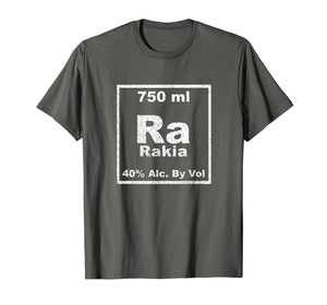 Rakia Periodic Table Element Shirt Funny Chemistry Gifts