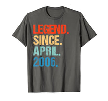 Load image into Gallery viewer, Legend Since April 2006 13th Birthday Gift 13 Yrs Old Tshirt
