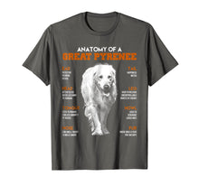 Load image into Gallery viewer, Anatomy Of A Great Pyrenee Dogs T Shirt Funny Gift