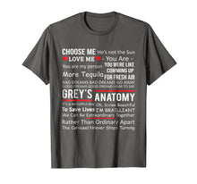 Load image into Gallery viewer, Anatomy Grey's T-shirt Gifts - Movie Anatomy Shirt