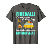 Load image into Gallery viewer, Love Fireball - Love Camping Funny T shirt