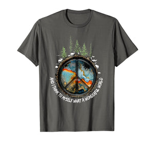 And I Think To Myself What A Wonderful World Hippie Shirt