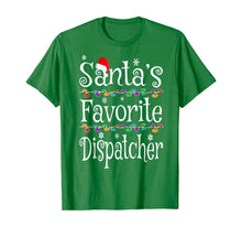 Load image into Gallery viewer, Santa's Favorite Dispatcher Funny Christmas Ornaments Gift T-Shirt