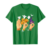 Load image into Gallery viewer, ASL Boo Sign Language Funny Halloween Costume Gift T-Shirt