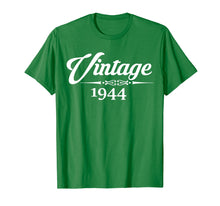 Load image into Gallery viewer, Born In1944 75th Birthday Gift 75 Years old T-Shirt