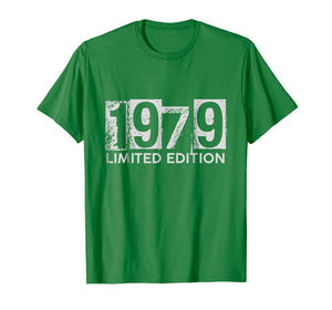 1979 Limited Edition 40th Happy Birthday T-Shirt