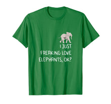 Load image into Gallery viewer, Love Baby Elephant Shirt  Funny Cute Animal Gift