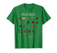 Load image into Gallery viewer, Bug T-Shirt - Bug Identification Types Of Insects Tee