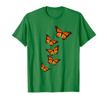 Load image into Gallery viewer, Monarch Butterflies Inspirational T-Shirt For Nature Lovers