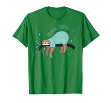 Load image into Gallery viewer, Sloth Pajama Party | Cute Sloth Lover T-Shirt & Gift