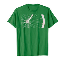 Load image into Gallery viewer, Bike Wheel Close Up of Radial Spokes T-shirt