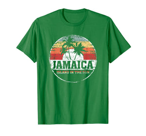 Jamaica Souvenir Tshirt Island in the sun vacation summer