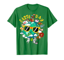 Load image into Gallery viewer, Earth day shirt Kids Women Men Nature Animal sunglasses Gift