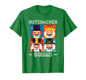 Nutcracker Squad Funny Christmas Holiday Gift T-Shirt
