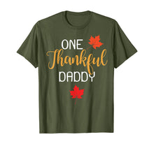 Load image into Gallery viewer, One Thankful Daddy Thanksgiving Day Family Matching Gift T-Shirt