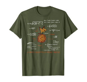 A Simple Question Of Weight Ratios Funny Math T-Shirt