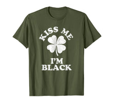 Load image into Gallery viewer, Kiss Me I'm Black shirt