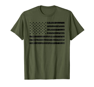 American Flag T Shirt: USA Patriotic Tshirt For Men & Women