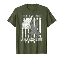 Load image into Gallery viewer, American Flag Shirt Gift for Brain Tumor Patients