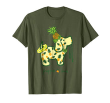Load image into Gallery viewer, Puppie Love Shirt Pineapple Puppie Shirt For Women