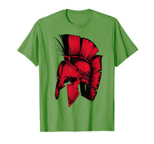 Load image into Gallery viewer, Spartan Greek Helmet Shirt | Cute Troy Fighters Funny Gift