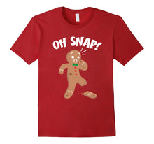 Load image into Gallery viewer, Oh Snap Shirt | Funny Christmas Shirts Xmas Gift Idea