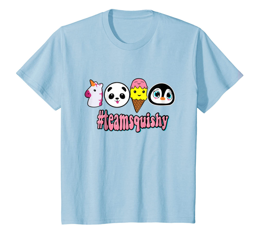 #teamsquishy Slow Rising Squishies Jumbo Hashtag Shirt Girls